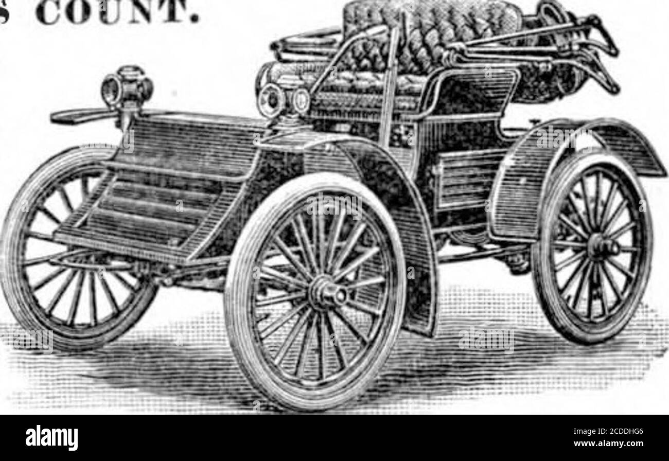 . Scientific American Volume 86 Number 14 (April 1902) . PRICE $1 ,200. The Haynes Apperson Automobile RESISTS COUNT Two Machines entered. Two Muclitnci*received first certi-ficate.Two Machines make higher aver-age than any nihermachines made 111America, — our re-cord in New Yurkand Buffalo Ilidur-auce test. Kirnt Prize Long Island endurance test IOO miles without IIfttop. First IrlzeCup Five-Mile speed contest. Fort Erie track, Buffa]o,N.Y.Flr«t I*rize Cup Ten-Mile speed contest. Point (irasse track, Detroit,Mich. Every machine we have ever entered in anv contest haa won first place.No failur Stock Photo