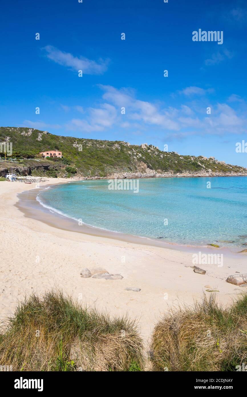 taly, Sardinia, Santa Teresa Gallura, Rena Bianca beach Stock Photo