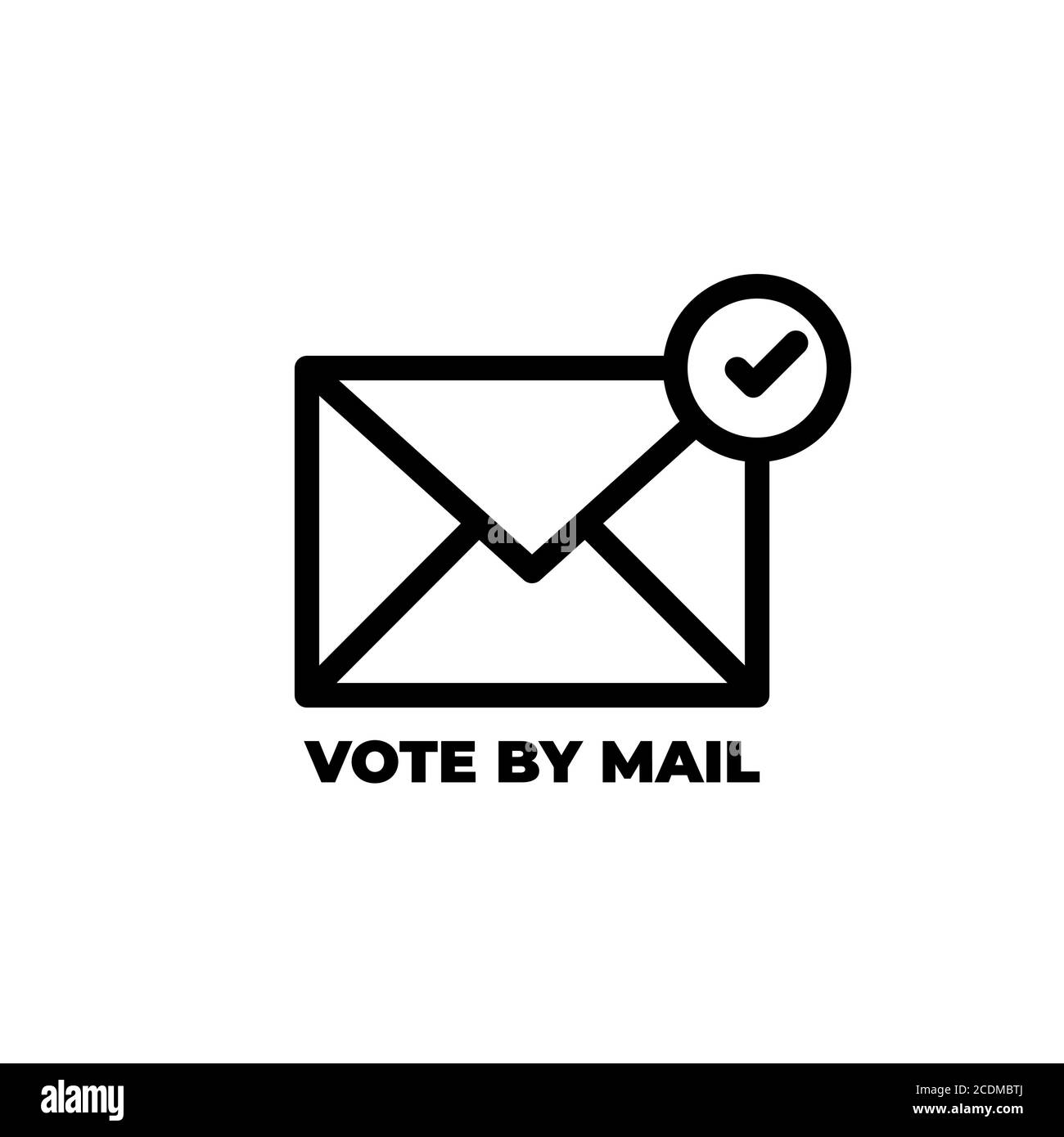 Vote By Mail Stay Safe Concept The 2020 United States Presidential Election Template For Background Banner Card Poster With Text Inscription Ve Stock Vector Image Art Alamy