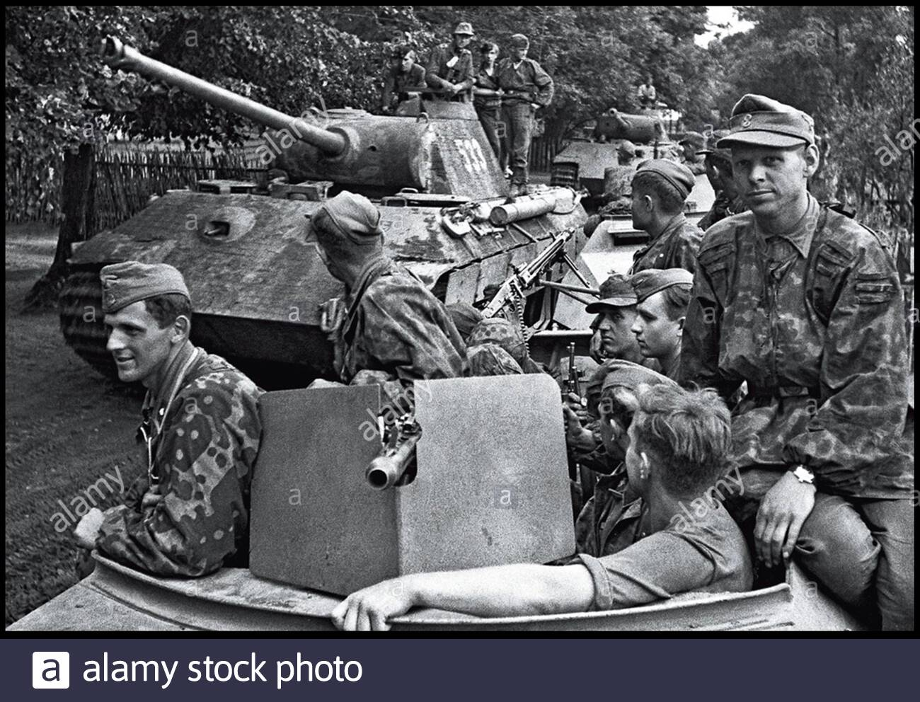 Horch 901 of the 5th Panzer Division Wiking | World War Photos