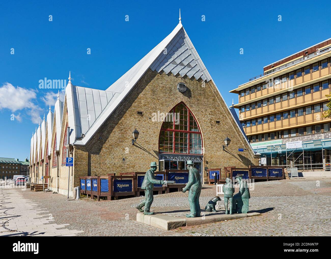 Feskekorka Gothenburg Vastra Gotalands Lan Sweden Stock Photo Alamy