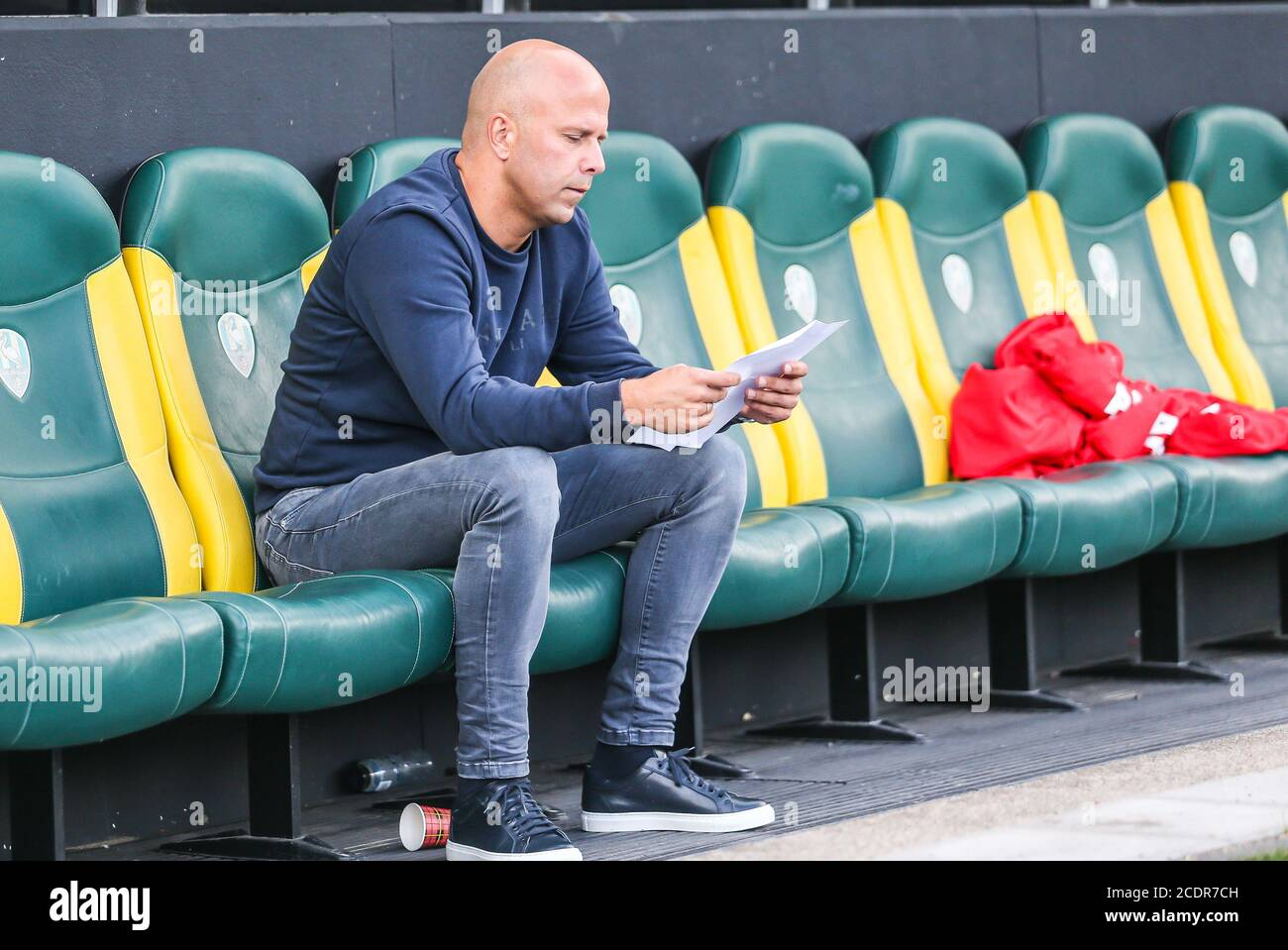Rotterdam 29 8 20 Cars Jeans Stadion Pre Season 20 21 Ado Den Haag Az Az Trainer Arne Slot Credit Pro Shots Alamy Live News Stock Photo Alamy