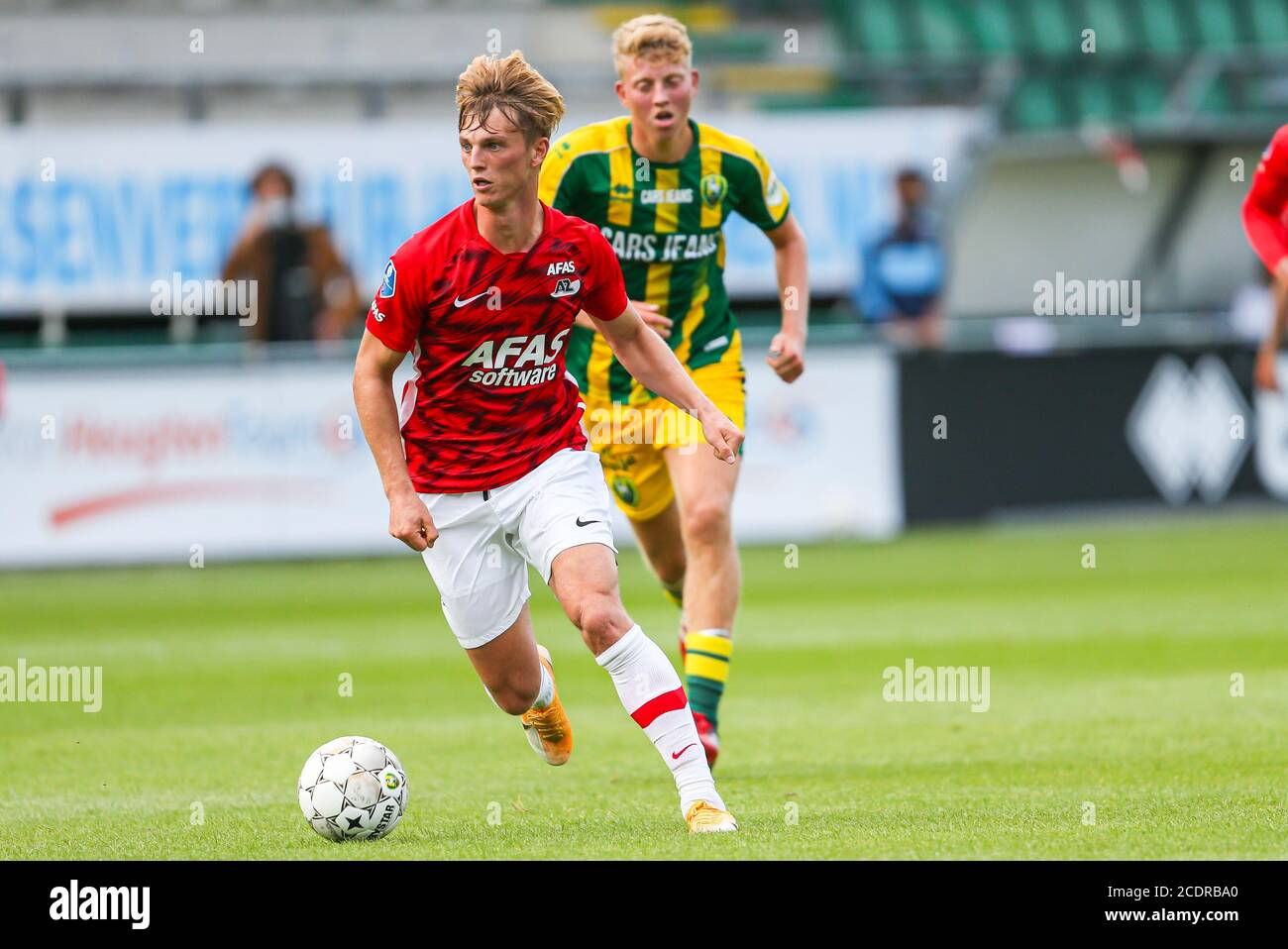 Rotterdam 29 8 20 Cars Jeans Stadion Pre Season 20 21 Ado Den Haag Az Az Player Albert Gudmundsson Credit Pro Shots Alamy Live News Stock Photo Alamy