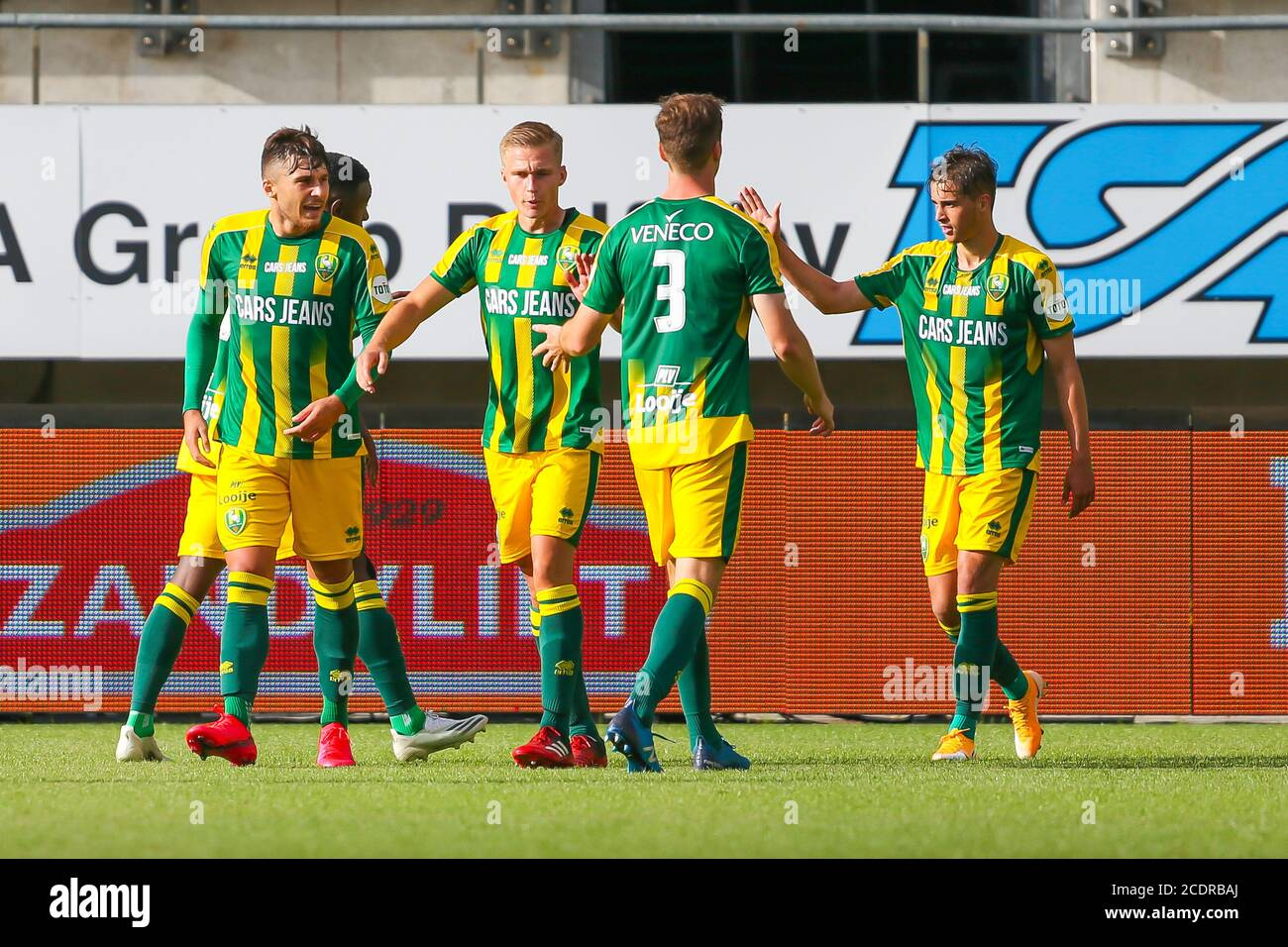 Rotterdam 29 8 20 Cars Jeans Stadion Pre Season 20 21 Ado Den Haag Az Ado Player Jonas Arweiler Scoort 1 0 Credit Pro Shots Alamy Live News Stock Photo Alamy