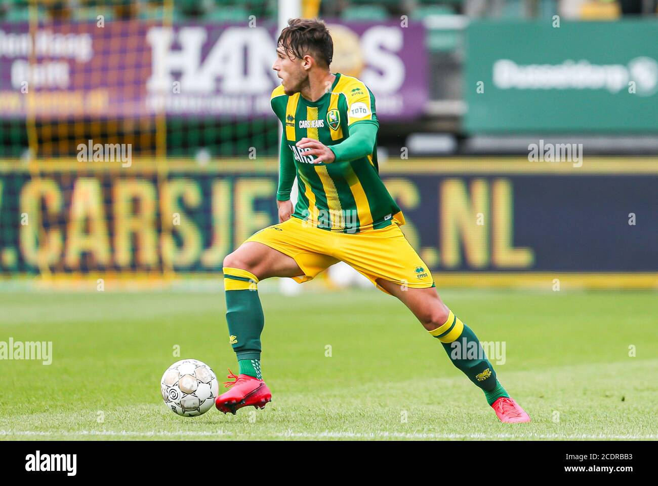 Rotterdam 29 8 20 Cars Jeans Stadion Pre Season 20 21 Ado Den Haag Az Ado Player Andrei Ratiu Credit Pro Shots Alamy Live News Stock Photo Alamy