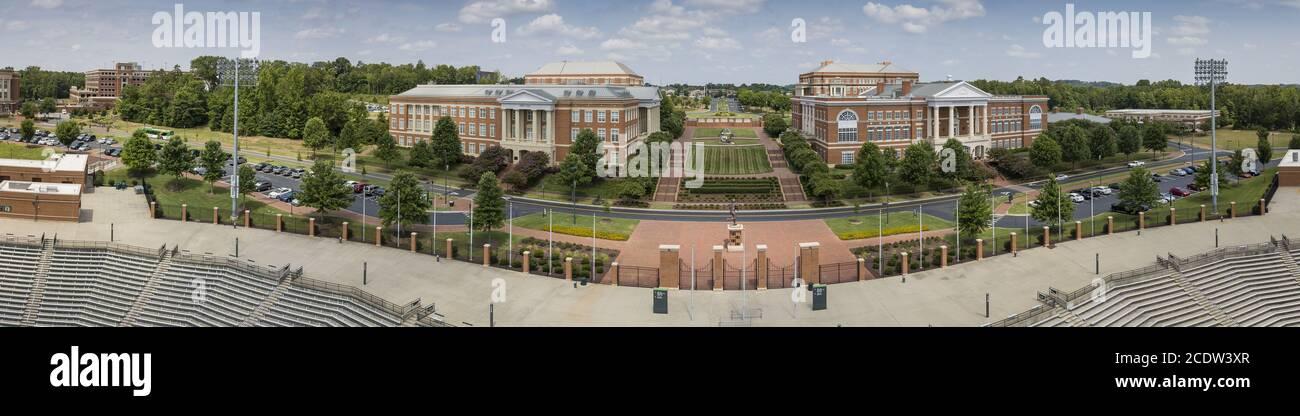 University Of North Carolina At Charlotte Stock Photo