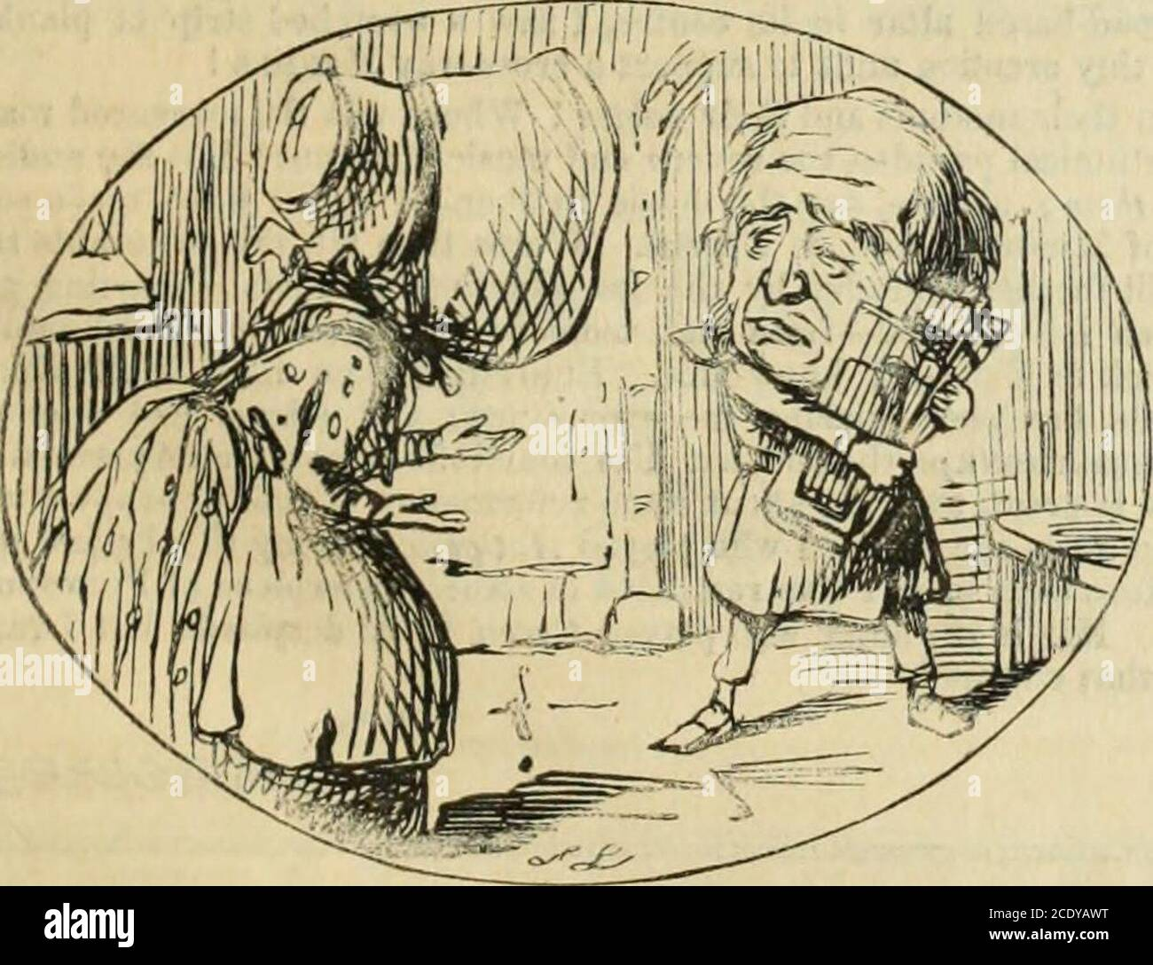 Punch There Was Once A Very Bad Boy And His Name Was Peel He Would Go And Slide On The Scale Though He Had Been Toldit Was A Bad Thing To It is very often said however 'me and him/her are going out'. alamy