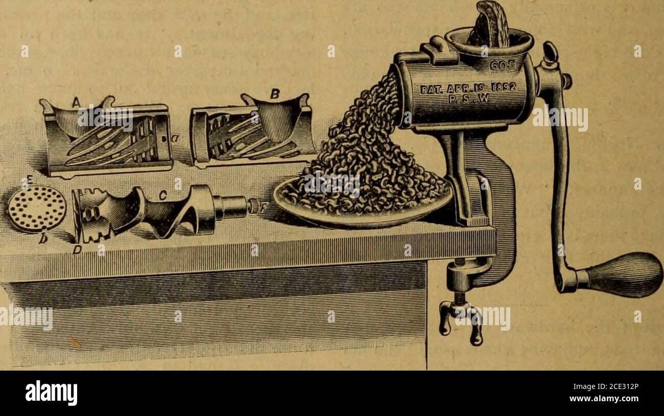 . Hardware merchandising 1895 . pages of the specialcolonial edition of The British and ColonialPrinter, says the editor of that paper, willimpress readers with this fact : that othernations, such as America and Germany, aretaking a growing and keener interest in thecolonial field as a market for their products. The Bookseller, Newsdealer and Sta-tioner, another British periodical, comment-ing on this statement, remarks : This isbut a fulfilment of forecasts made by usfrom time to time. We have long had toface this competition, but it seems to be nowentering upon a more active stage. Let ushop Stock Photo