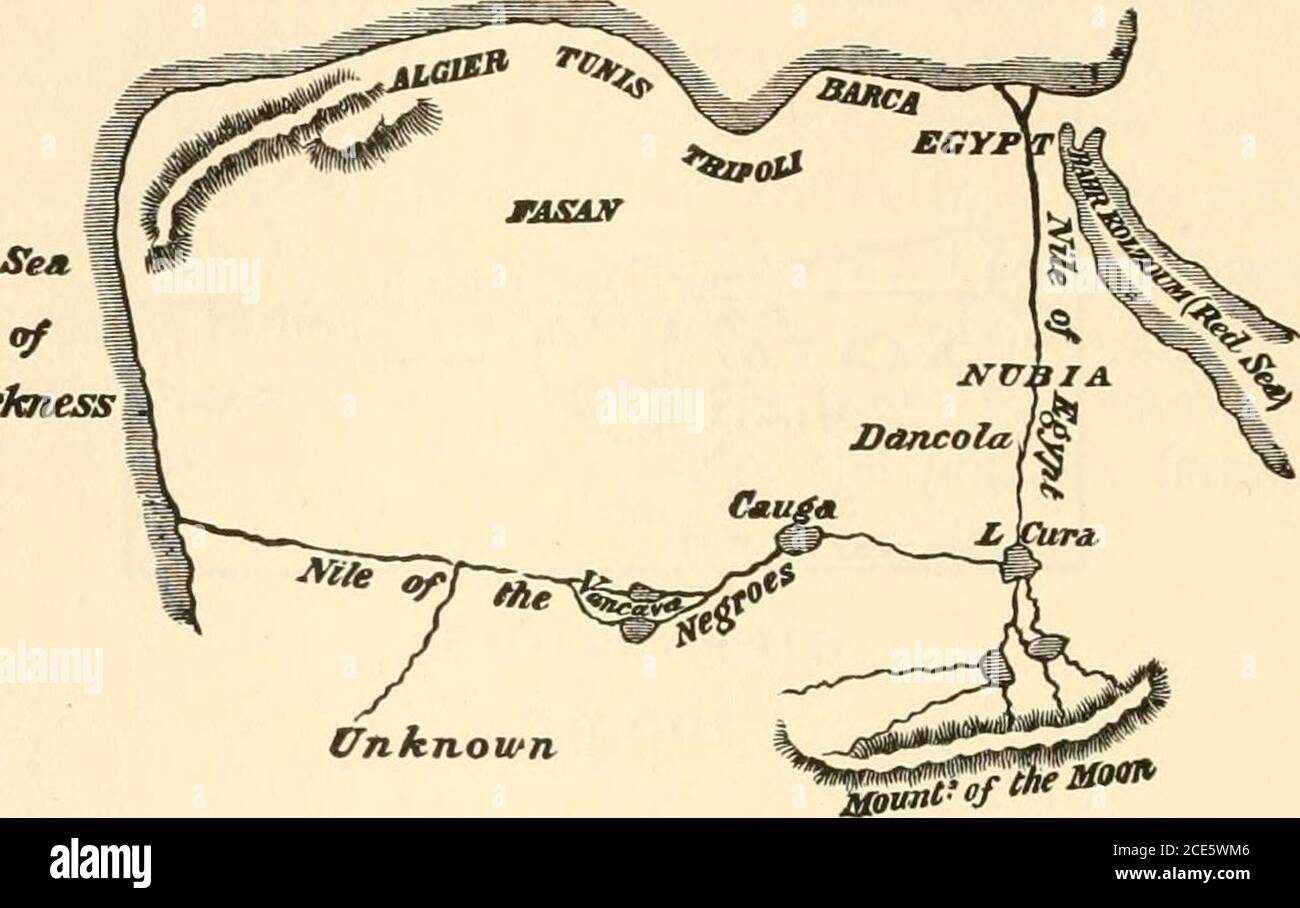 Map Quest Africa In darkest Africa; or, the quest, rescue, and retreat of Emin