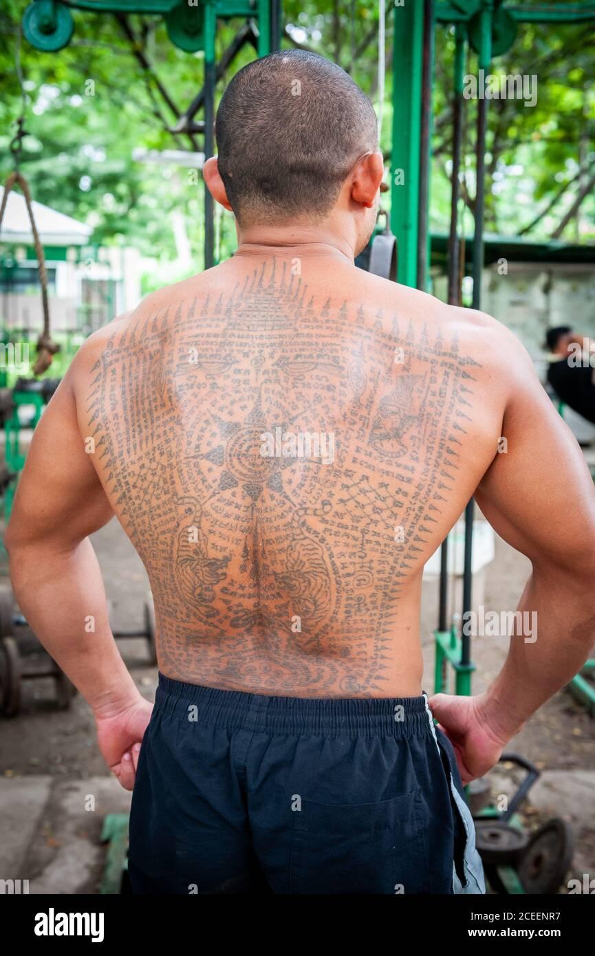 Thai buddhist tattoos traditional 131 Buddha