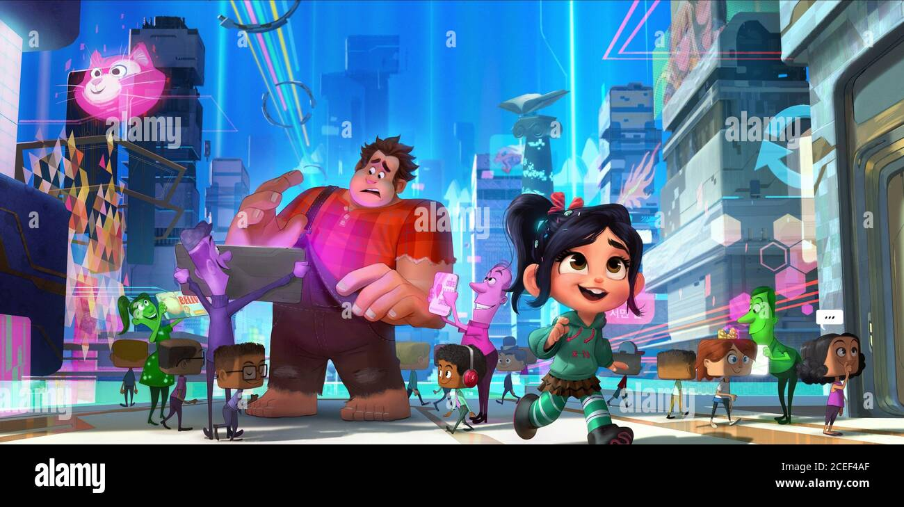 Ralph Breaks The Internet Wreck It Ralph 2 High Resolution Stock Photography And Images Alamy