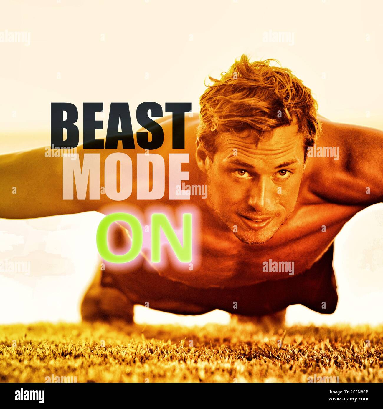 Fitness man working out exercise at gym inspirational quotes ...