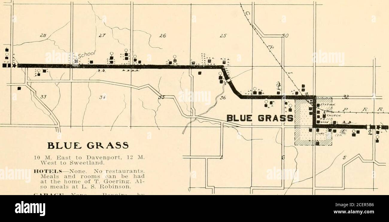 . Huebinger's map and guide for river to river road;. 10 M. East to Davenport. 12 11.We.-it to Sweetland. HOTELS—None. No restaurants.Meals and rooms can be hadat the home ot T. Goerins. Al-so meals at L. S. Robinson. c;.VRAGK—None. Repairs by blacksmith. Henry Kuhlman. i;.VS01,IXE—Kautz, general storeand Plett tt Schroeder, generalstore. iii;i,i, TKi.iMMioxE—At stores. PLEASANT PRAIRIE Villa Lie. Xo accniiiiinnhii iuiis. ME.LPINE Village. Xo a.cimmurlaiions. Stock Photo