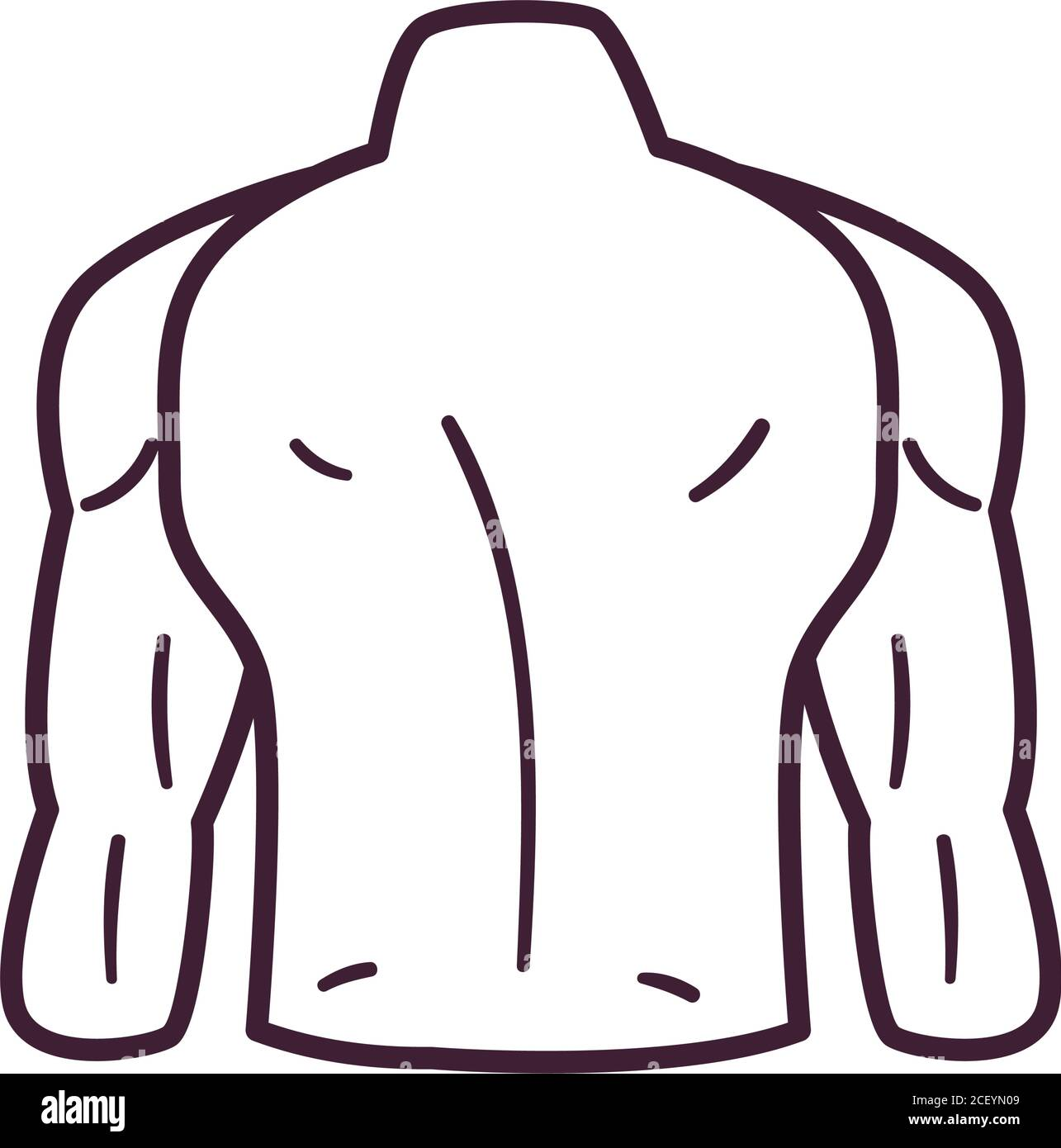 Male Body Icon High Resolution Stock Photography And Images Alamy You have come to the right place! https www alamy com male back line style icon design human body person people health anatomy biology and science theme vector illustration image370632089 html