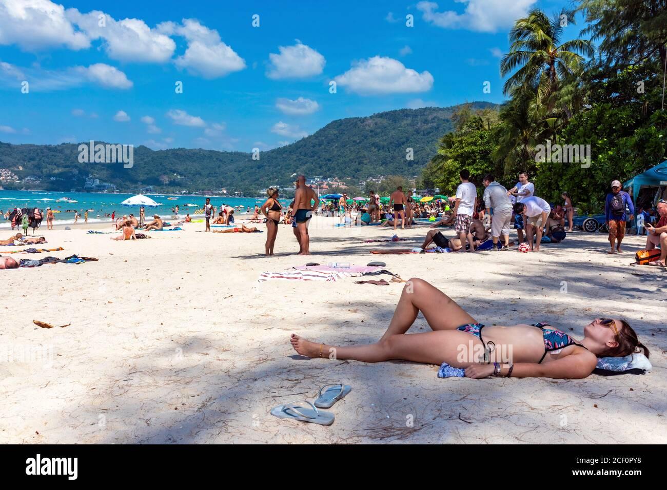 Patong beach girls