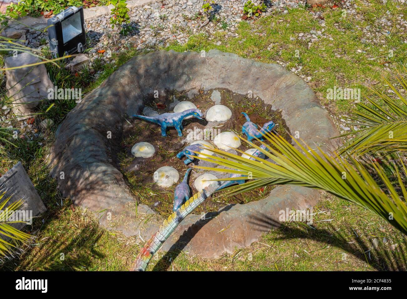 Parque Cretacico Near Sucre Sucre Constitutional Capital Of Bolivia Capital Of The Chuquisaca Department Bolivia Latin America Stock Photo Alamy
