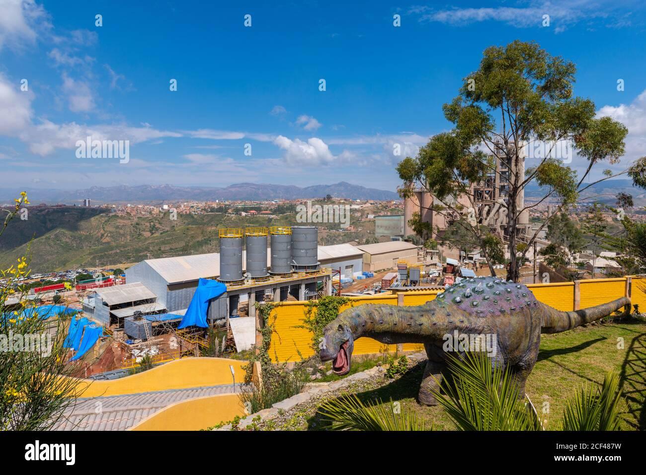 Cement Works Next To Parque Cretacico Near Sucre Sucre Capital Of Bolivia Capital Of The Chuquisaca Department Bolivia Latin America Stock Photo Alamy