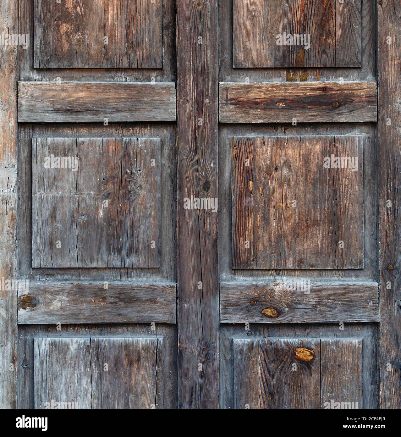 background with old wooden planks, with shabby color, close up Stock Photo