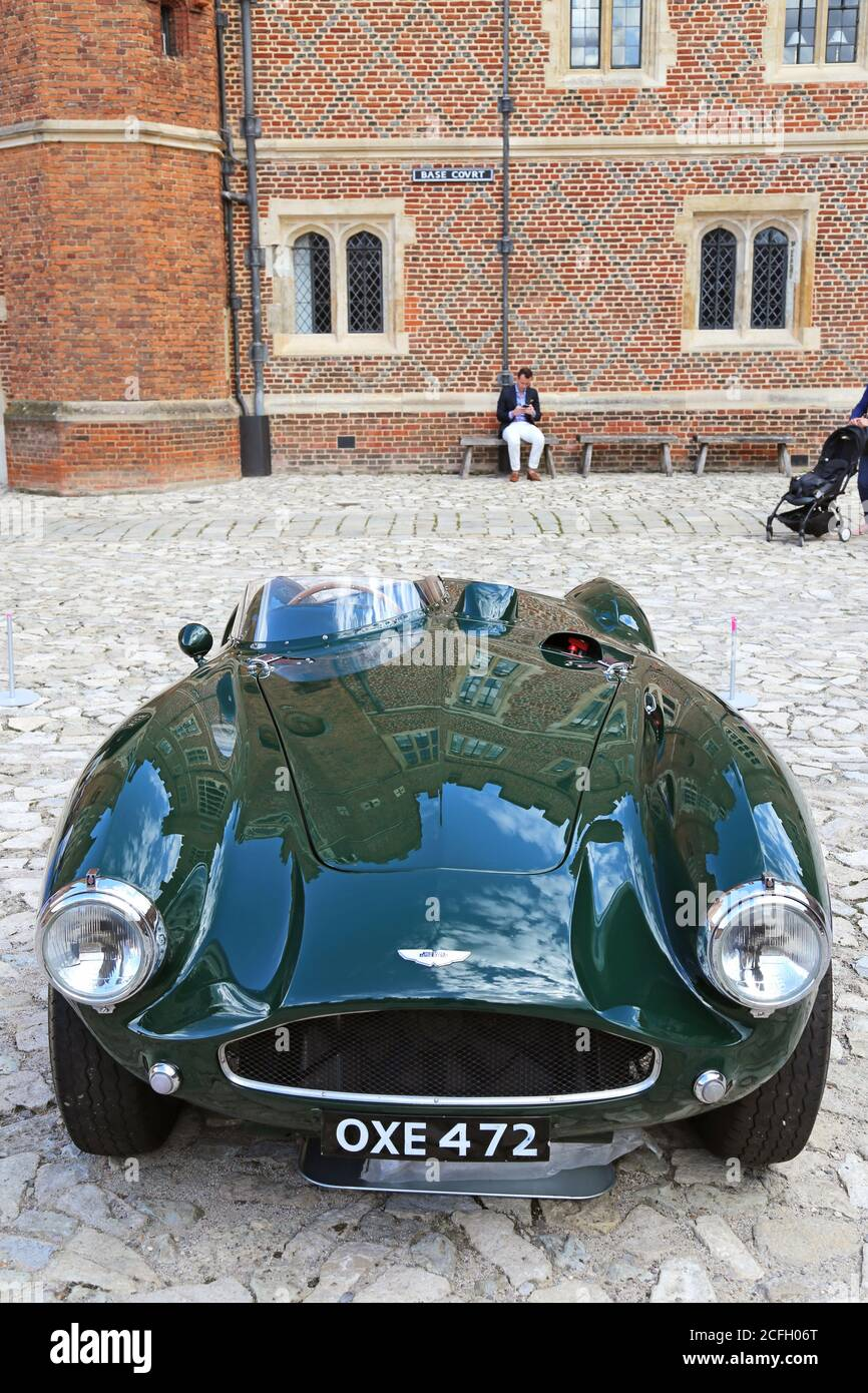 Aston Martin Db3s 1955 Sold At 3 011 000 Gooding Classic Car Auction 5 September 2020 Hampton Court Palace London Uk Europe Stock Photo Alamy