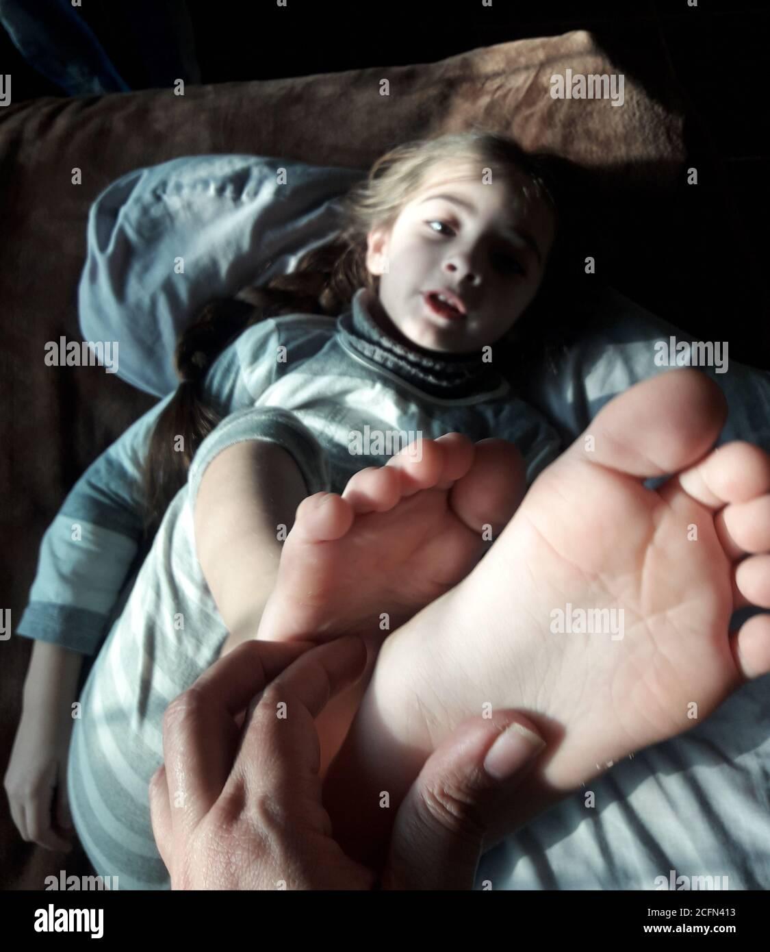 Tickled big feet 15 Female