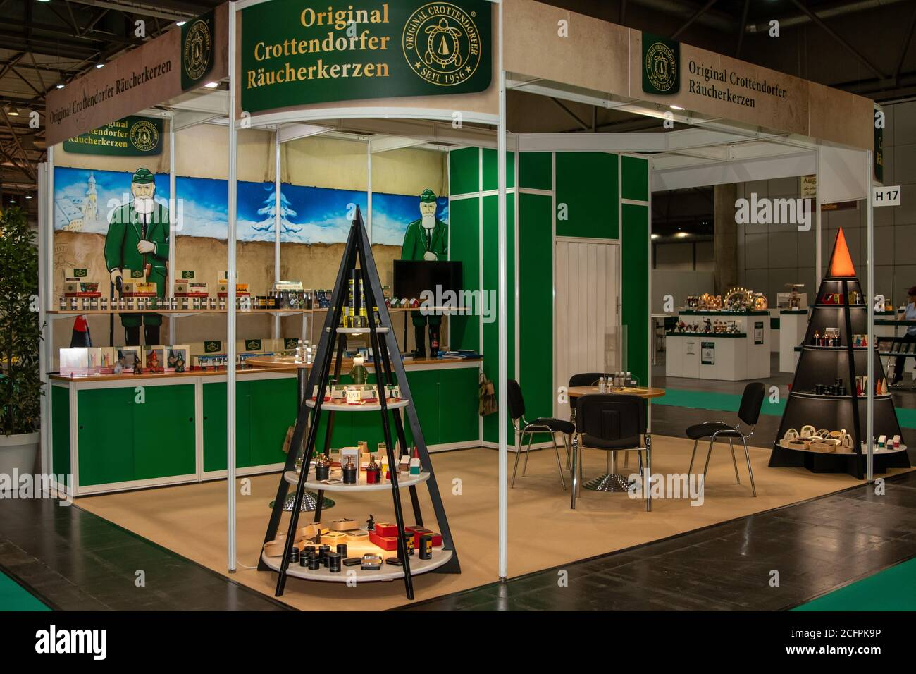 Corona Christmas Commercial 2020 Leipzig, Germany. 06th Sep, 2020. With the CADEAUX Leipzig   Trade