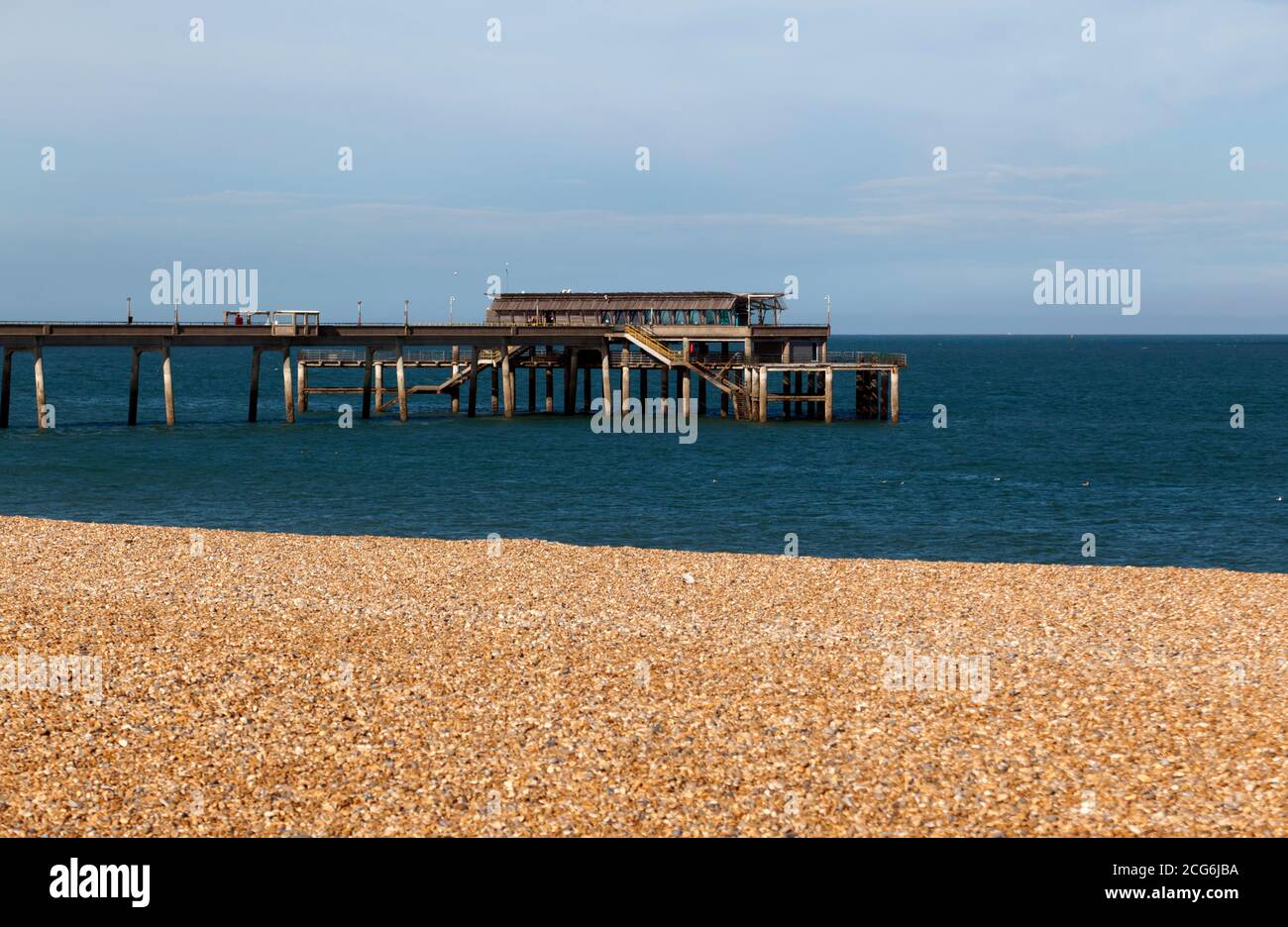 View of Deal Pier Stock Photo