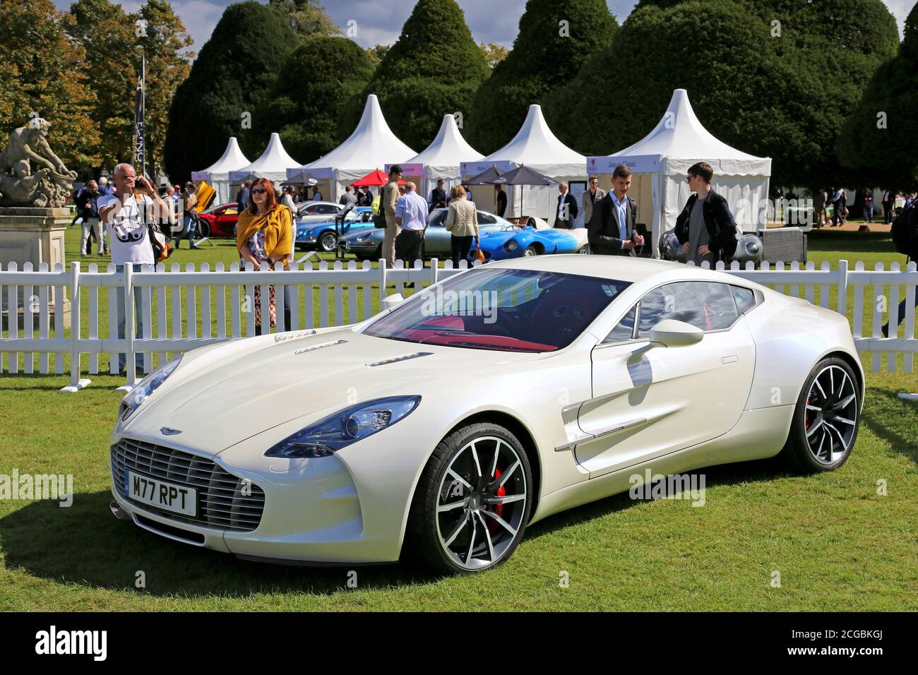 Aston Martin One 77 High Resolution Stock Photography And Images Alamy