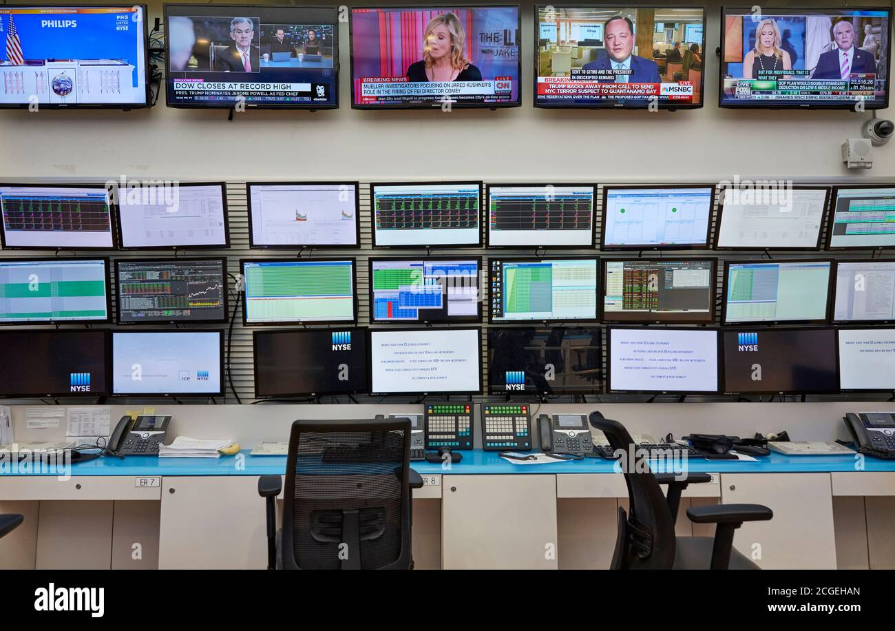 Trading Floor High Resolution Stock Photography And Images Alamy