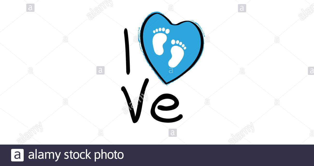 Slogan I Love My Baby Boy With Heart Pictogram Sign New Born Coming Soon Happy Family For Papa And Mama Quotes Cartoon Vector Infant Quotes Sign Stock Vector Image Art