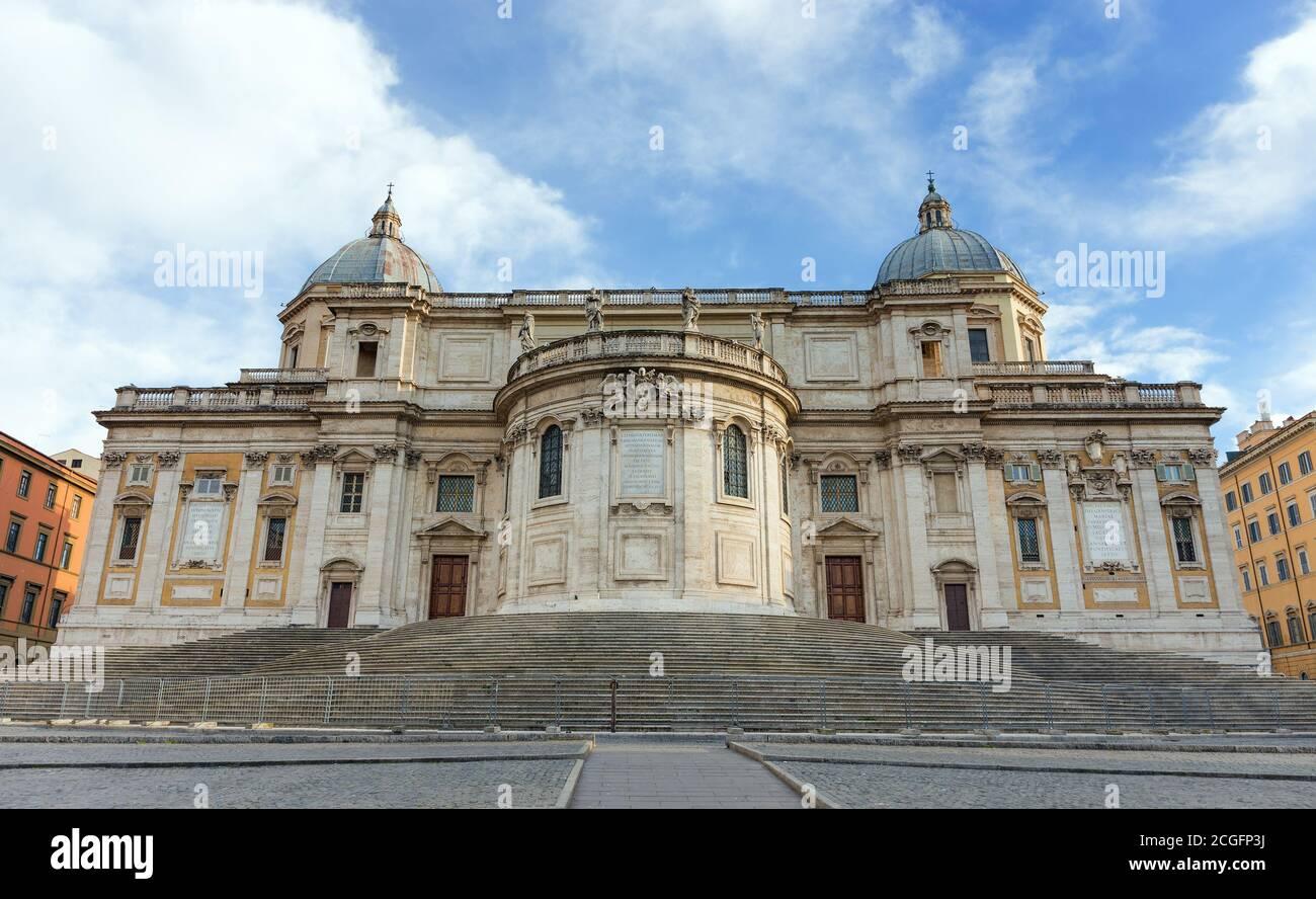 Basilica di Santa Maria Maggiore, Rome, Italy. Stock Photo