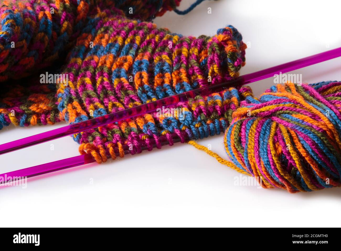 Handmade Woolen Scarf High Resolution Stock Photography And Images Alamy