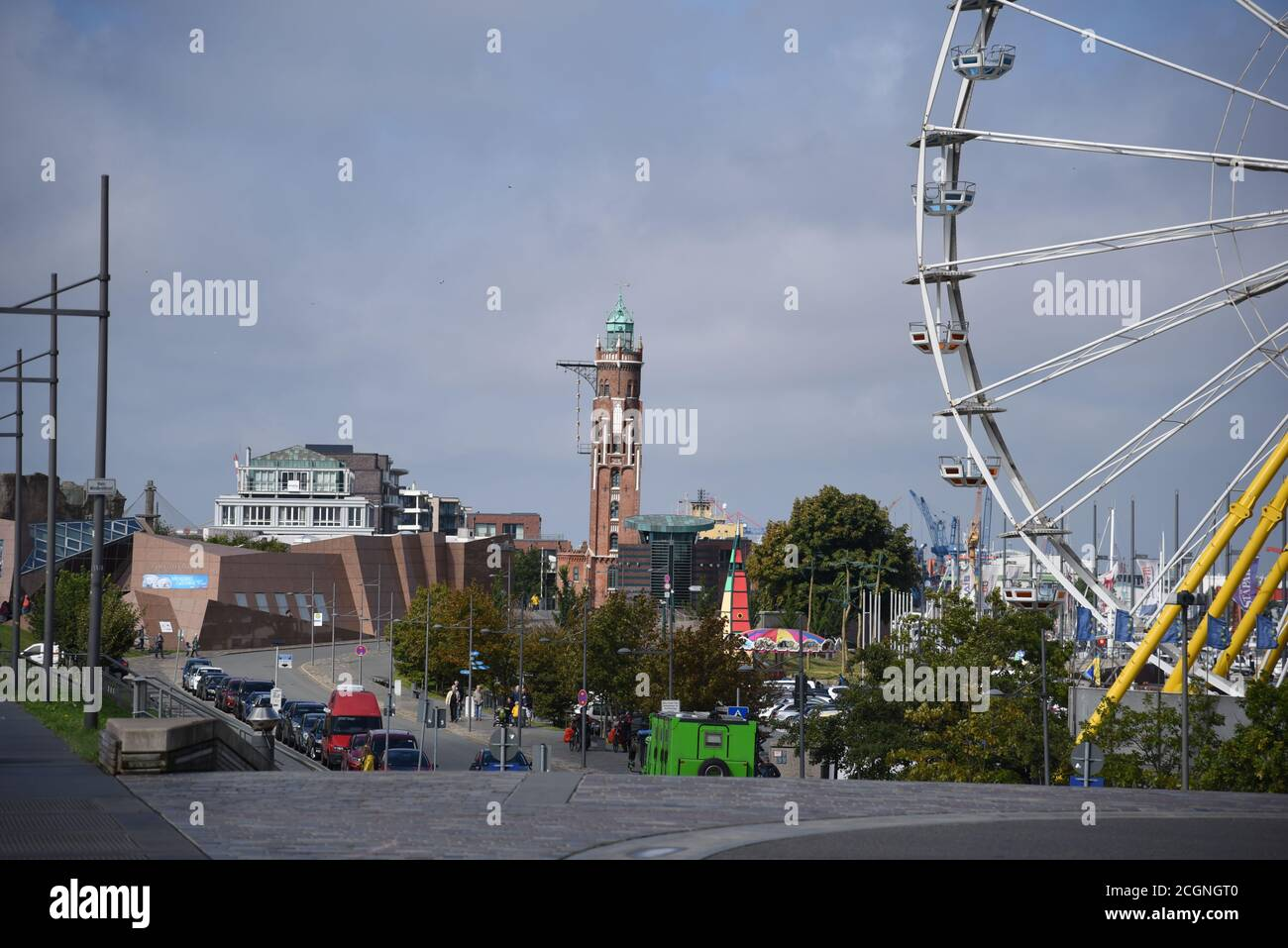 Bremerhaven rear light Stock Photo