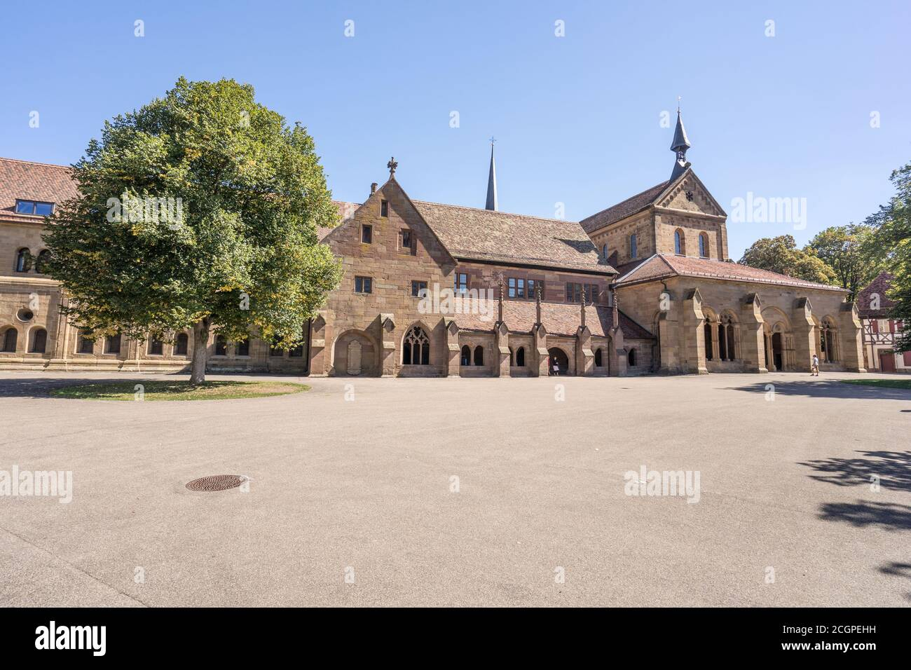 maulbronn monastery is a world heritage touristic atraction site in Germany Stock Photo
