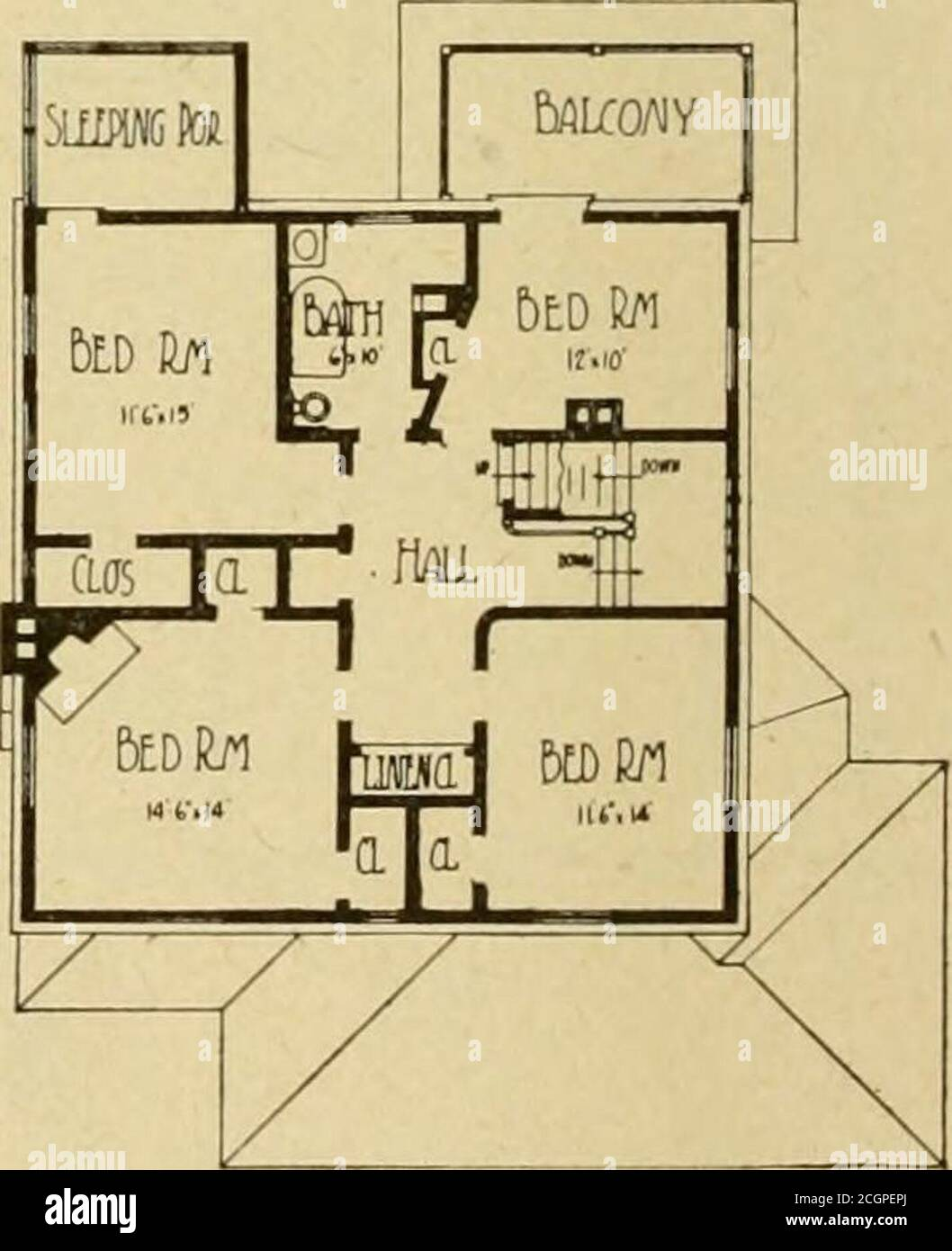 Floor Plans Executed High Resolution Stock Photography And Images Alamy