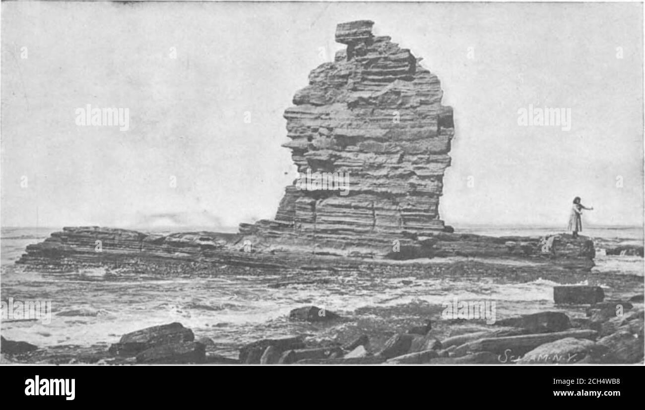 . Scientific American Volume 85 Number 01 (July 1901) . ABCH BOCK, SANTA UONICA.. SENTINEL BOCK, POINT FIBUAN. Stock Photo