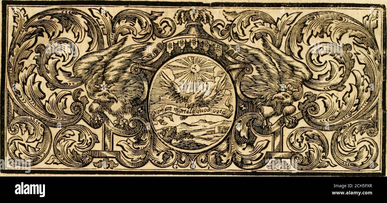 . Fvneralia der weyland durchlauchtigsten Fürstin und Frau, Frau Magdalenen Augusten, verwittibter Hertzogin zu Sachsen-Gotha und Altenburg, gebohrner Fürstin von Anhalt-Zerbst . , £anbgrdfin in ^(»tomgm, 3Ratg9r4(in ju SRciffcn, gcfür trt£ ©rapn jii $m«ncbag, ©rdfin ju btr 5Äarcf unt> IXaocittSbcrg, Jrau ju 3iat>mft«n imb 3:ctma, jc. ©eöo^rnc f lirjün ju Inhalt, Srdftn ju Ifcanlm, Srau ^ Bcvbft, ^mhm^, 2cmn mb ^nipf^aufm, k» ten II. Octobr. 1740,cnf ^em ^o^füt(tliä)m Keji^en^^@4)Ioffe ju Jßtenbutg S^re t^eure @eefe Dui:(3^ fcen jeitlidpen So& Syrern geplante S^njio 3(Sfu übergaben f t&g Stock Photo