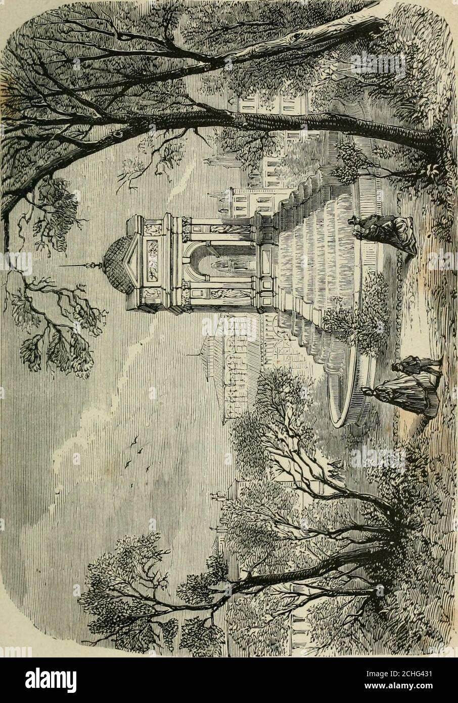 . Les merveilles du nouveau Paris-- . ©chal deBichelieu, le Maistre de Sacy, de Renneville,Voltaire, Latude, célèbre par ses évasions ; Linguet; le prévôtde Beaumont, qui resta au secret pendant vingt-deux ans à laBastille, à Vincennes, à Charenton, et dont la famille ignorapendant dix ans ce quil était devenu, etc. Nous avons parlé de la situation des grands personnages,de leur manière de vivre et dagir. Il nous répugne de direle sort réservé aux prisonniers obscurs ou célèbres quela vengeance ou lindifférence condamnait à une vie de pri-vations et de torture. Souvent ce nétait Stock Photo