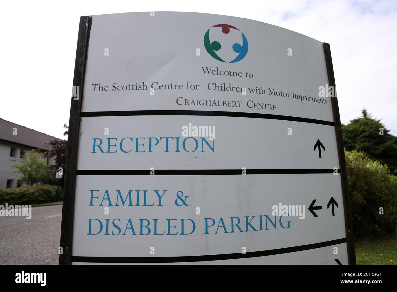 A general view of the Craighalbert Centre. Coronavirus adaptations have been installed at the Scottish Centre for Children with Motor Impairments, Craighalbert Centre, Cumbernauld, as Scotland continues gradually lifting coronavirus lockdown measures. Stock Photo