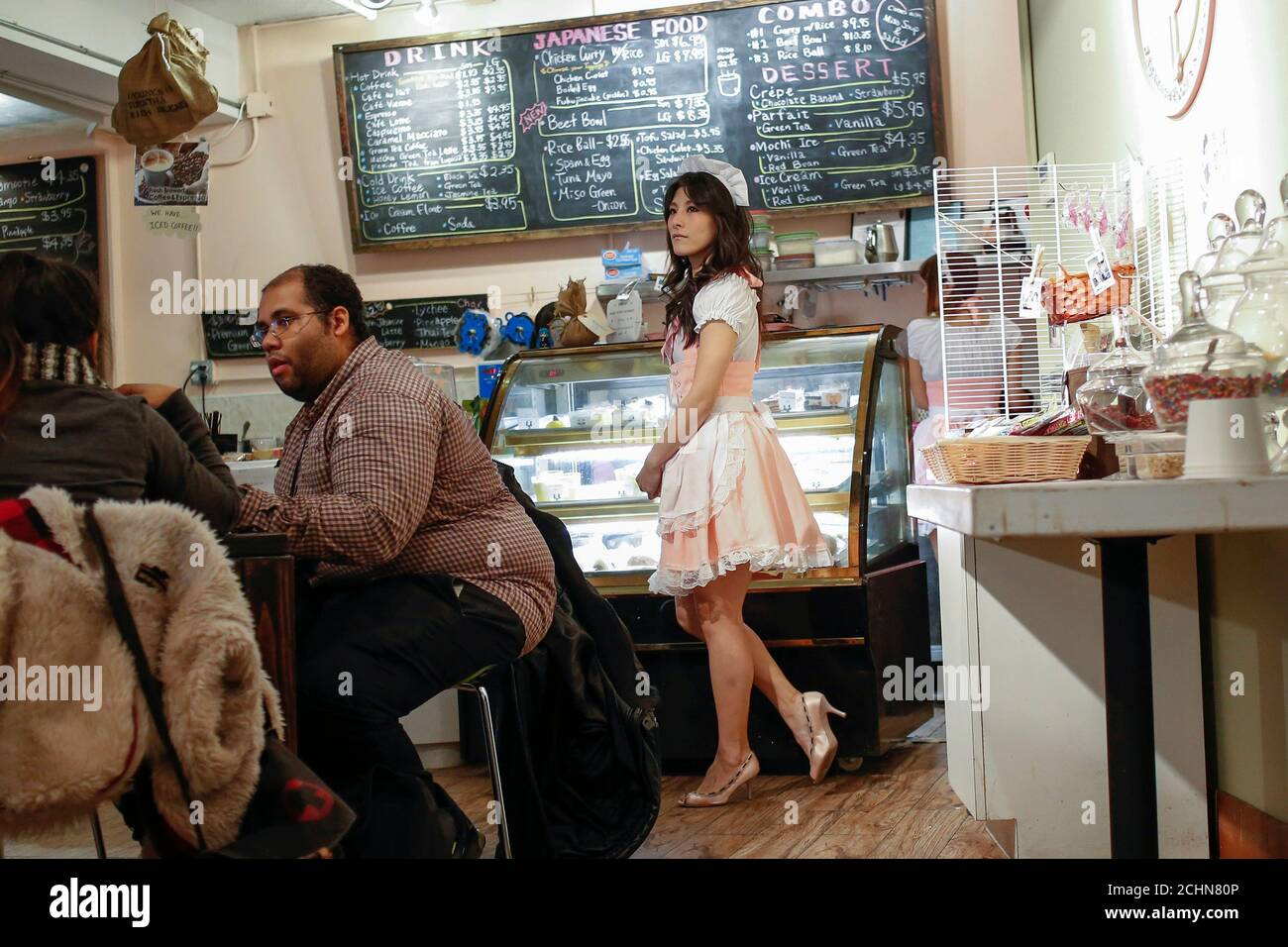 Page 2 Maid Cafe High Resolution Stock Photography And Images Alamy