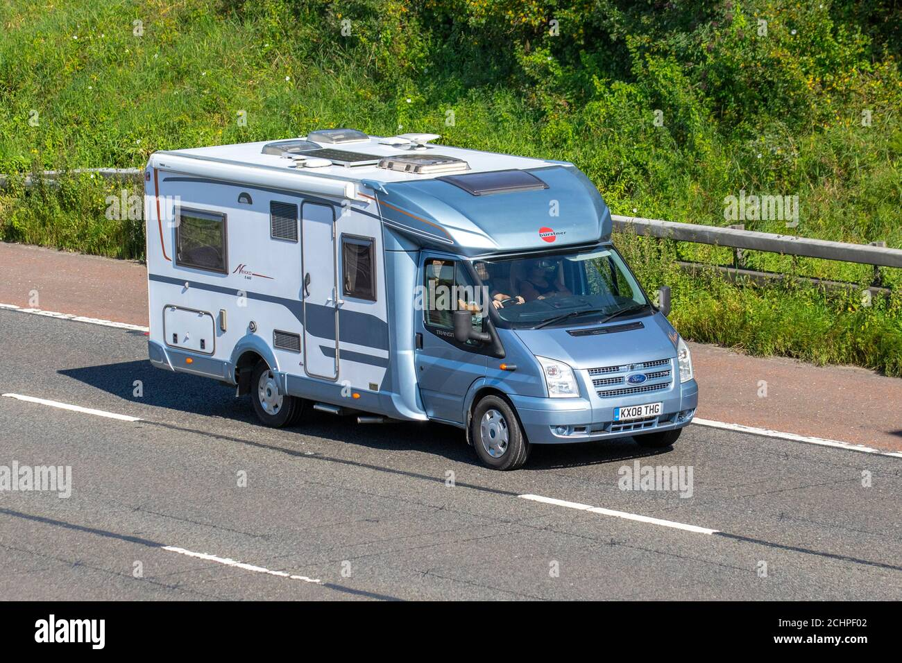 2008 Blue Ford Transit Caravans And Motorhomes Campervans On Britain S Roads Rv Leisure Vehicle Family Holidays