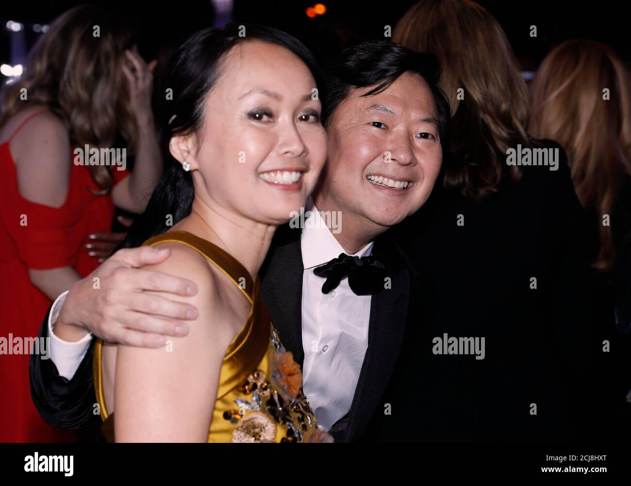 Ken Jeong And Wife Tran High Resolution Stock Photography And Images Alamy