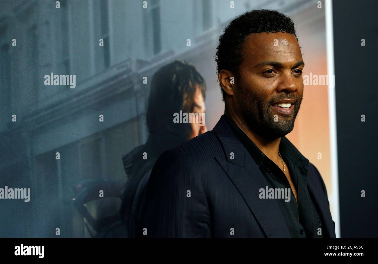 Cast Member Ray Fearon Poses At The Premiere For The Foreigner In Los Angeles California U S October 5 2017 Reuters Mario Anzuoni Stock Photo Alamy