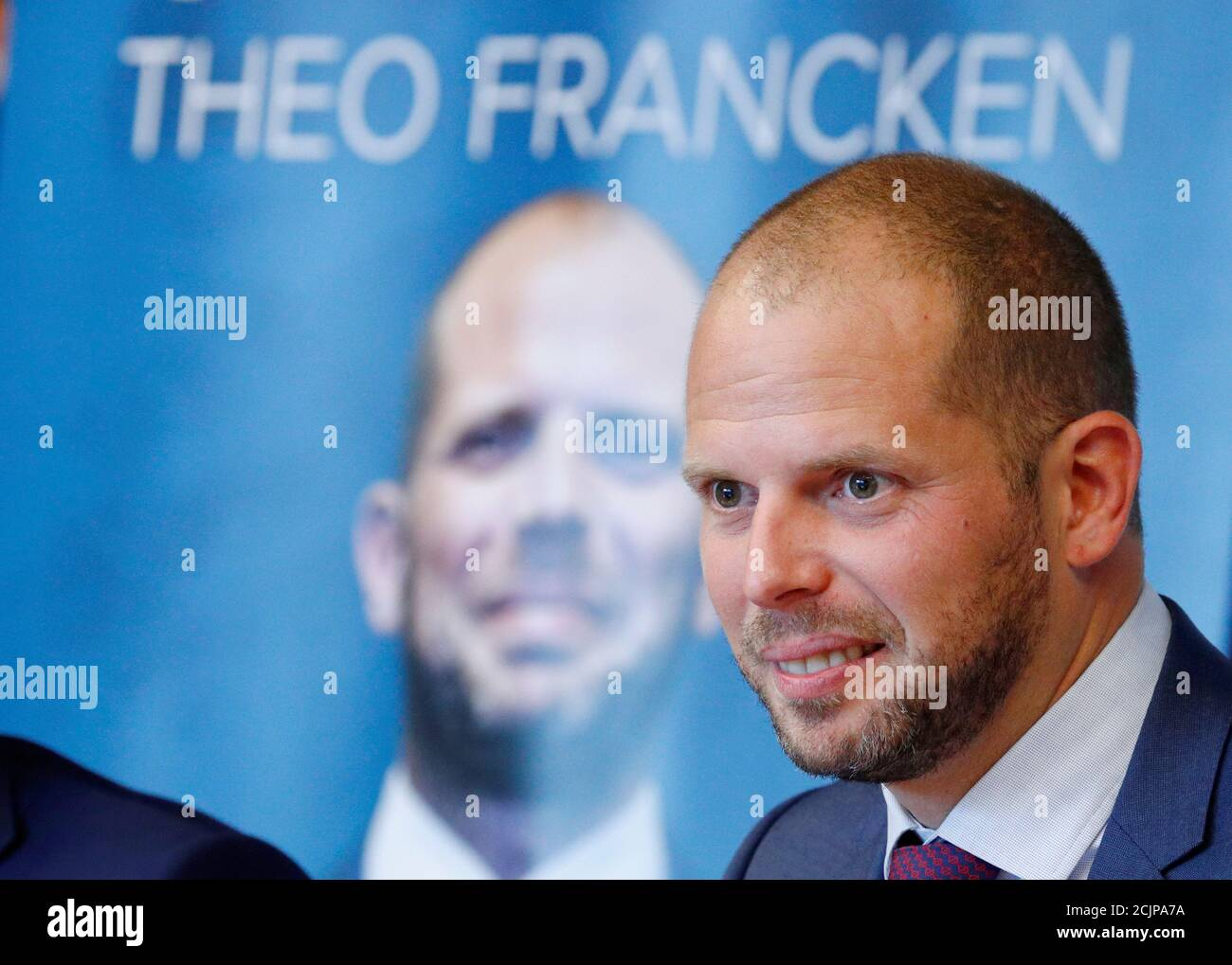 Belgium S Asylum And Migration State Secretary Theo Francken Presents A Book Continent Without Borders At The European Parliament In Brussels Belgium September 28 2018 Reuters Francois Lenoir Stock Photo Alamy