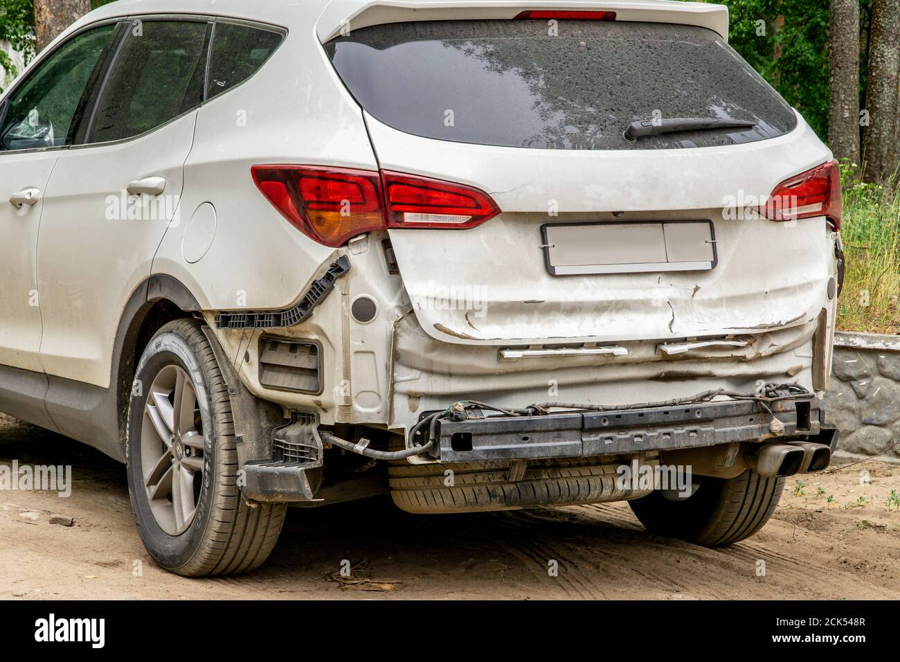 Rear Bumper High Resolution Stock Photography And Images Alamy