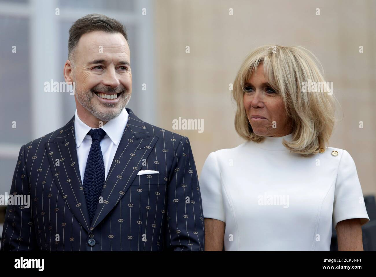 Elton Johns Husband High Resolution Stock Photography And Images Alamy