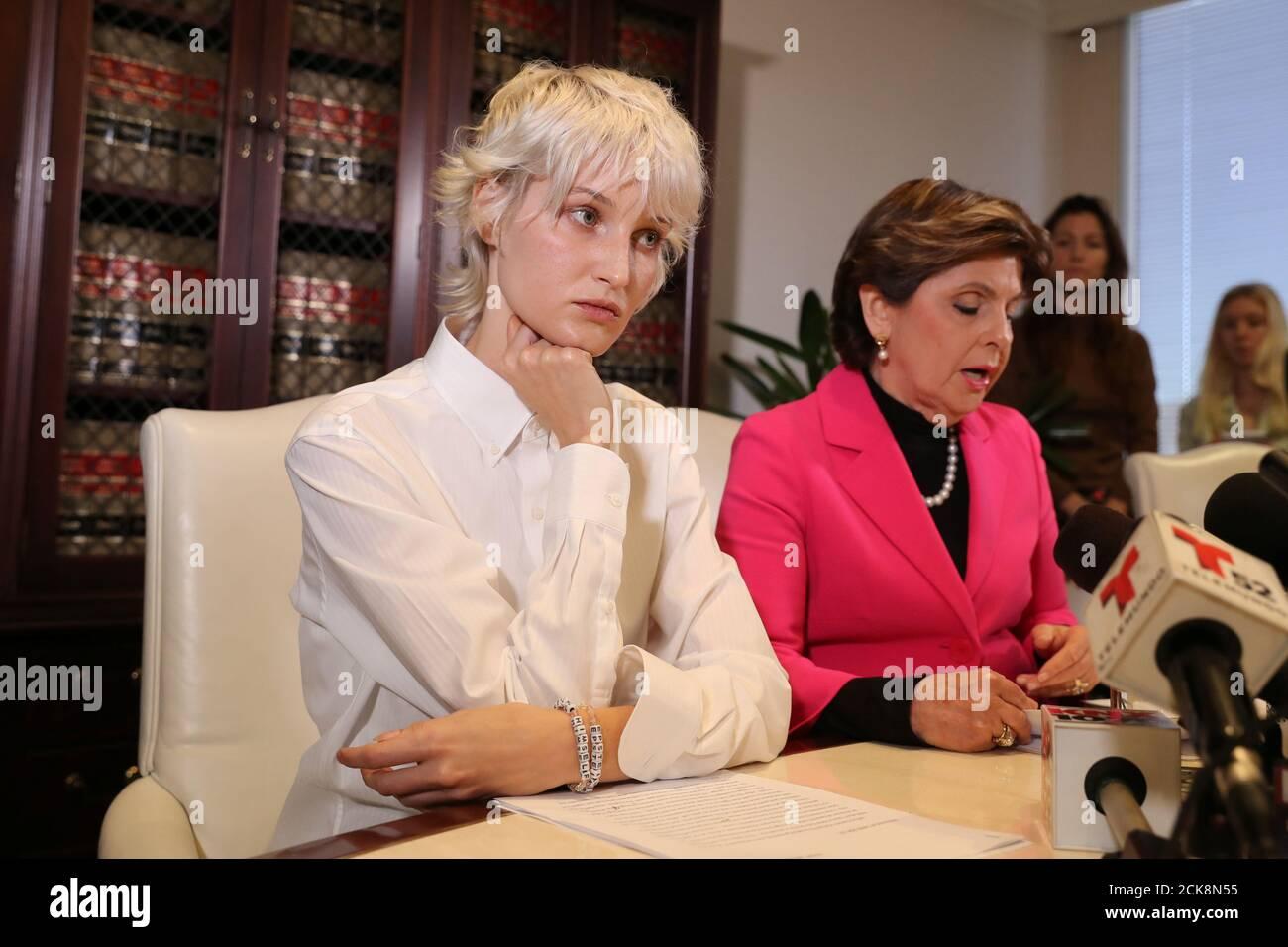 Jane Doe 15 A 31 Year Old Unidentified Woman Who Accuses The Late Financier Jeffrey Epstein