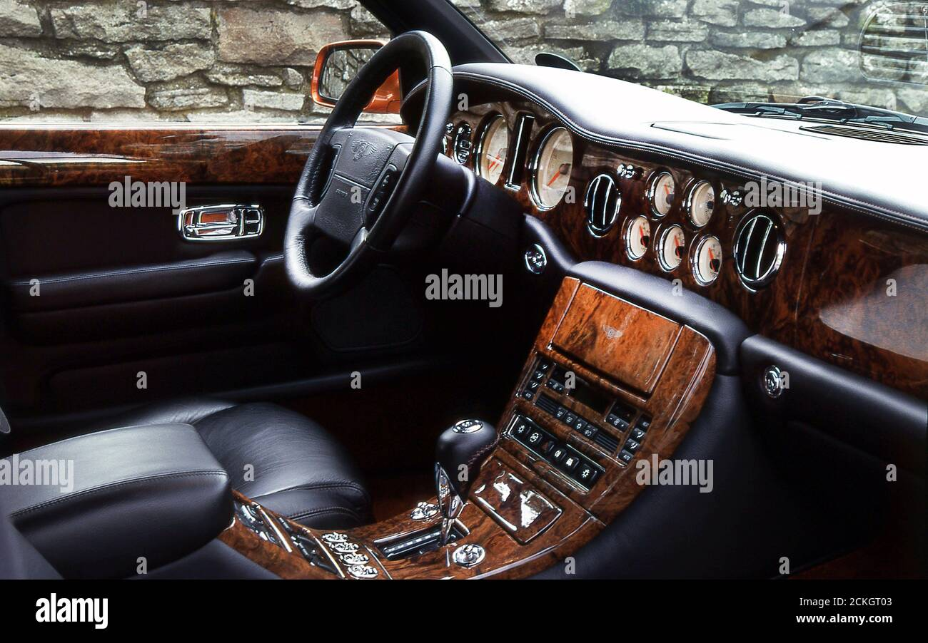 Bentley Interior High Resolution Stock Photography And Images Alamy