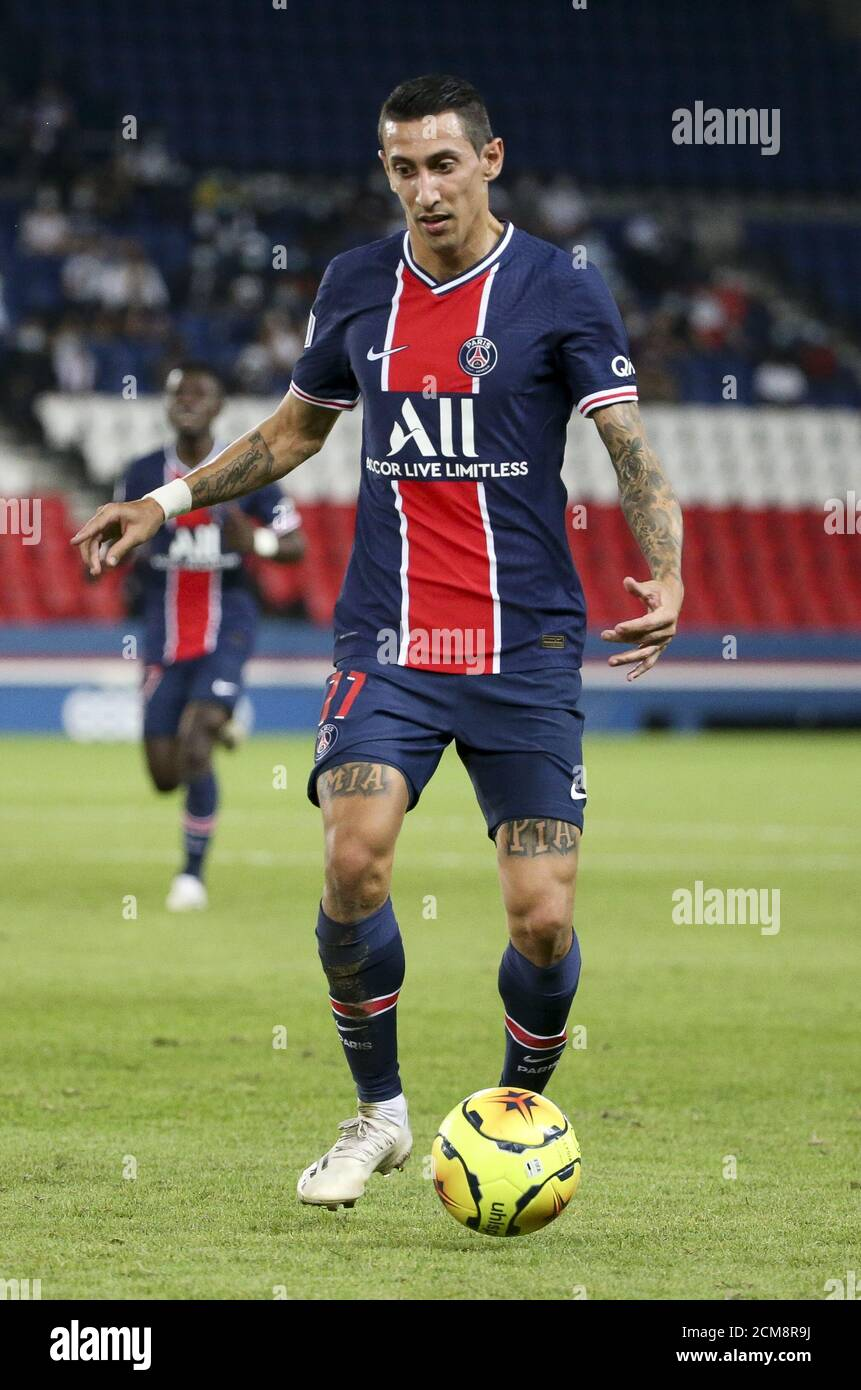 Angel Di Maria of PSG during the French championship Ligue 1 football match  between Paris Saint-Germain (PSG) and FC Metz on September 16, 2020 at Par  Stock Photo - Alamy