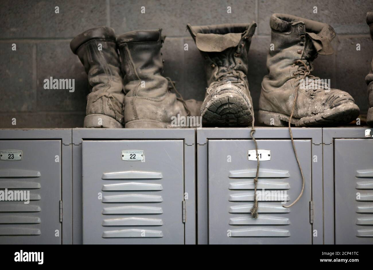 Miners Boots High Resolution Stock