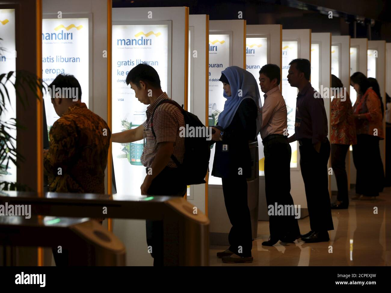 Bank Mandiri High Resolution Stock Photography And Images Alamy